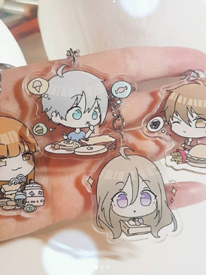 4Q Charms - SET (4 single chara)